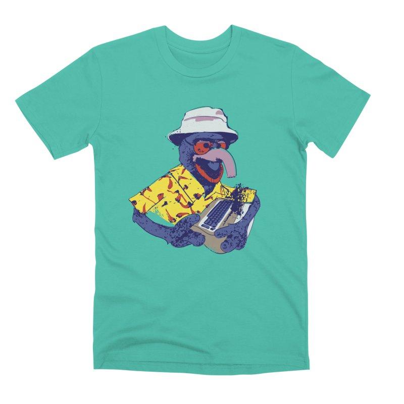 Gonzo Journalism Men's Premium T-Shirt by Thomas Orrow