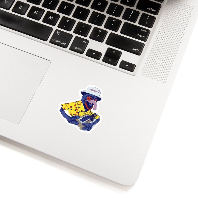 Gonzo Journalism Accessories Sticker by Thomas Orrow