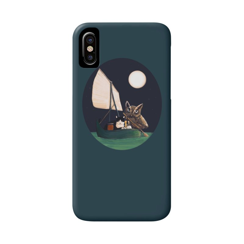 The Owl and the Pussycat Accessories Phone Case by Thomas Orrow