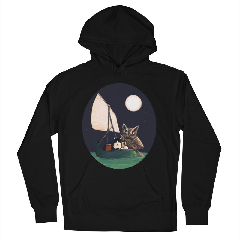 The Owl and the Pussycat Men's Pullover Hoody by Thomas Orrow