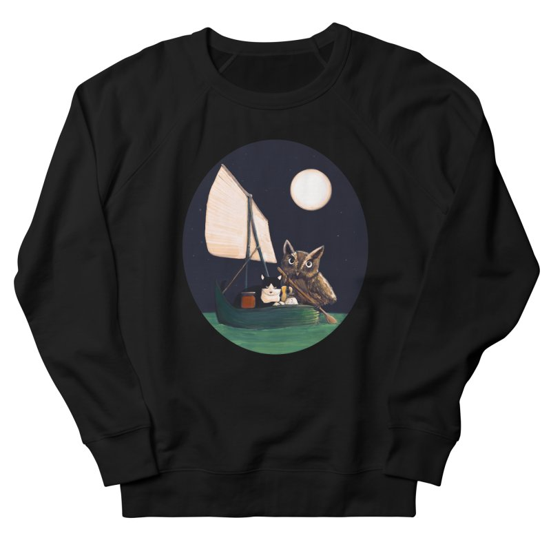The Owl and the Pussycat Men's Sweatshirt by Thomas Orrow