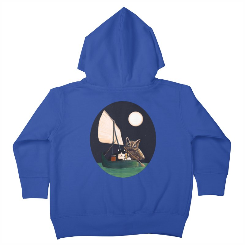 The Owl and the Pussycat Kids Toddler Zip-Up Hoody by Thomas Orrow