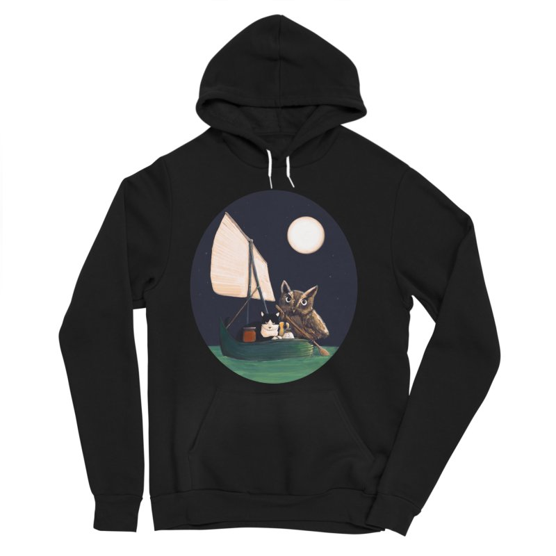 The Owl and the Pussycat Women's Sponge Fleece Pullover Hoody by Thomas Orrow