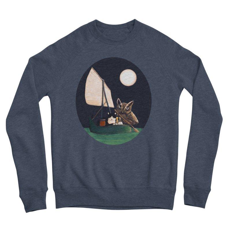 The Owl and the Pussycat Men's Sponge Fleece Sweatshirt by Thomas Orrow