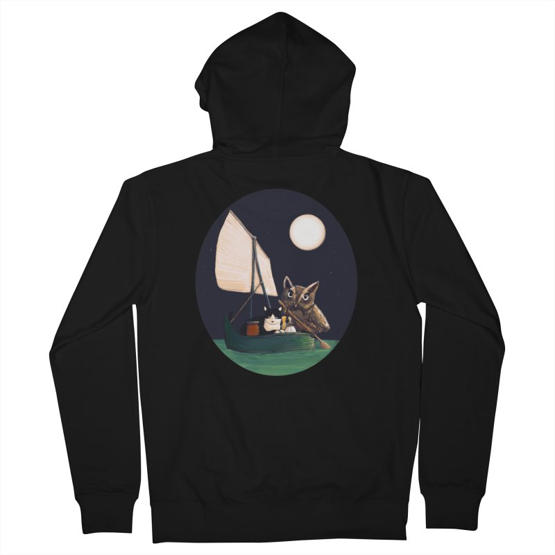 The Owl and the Pussycat Women's Zip-Up Hoody by Thomas Orrow