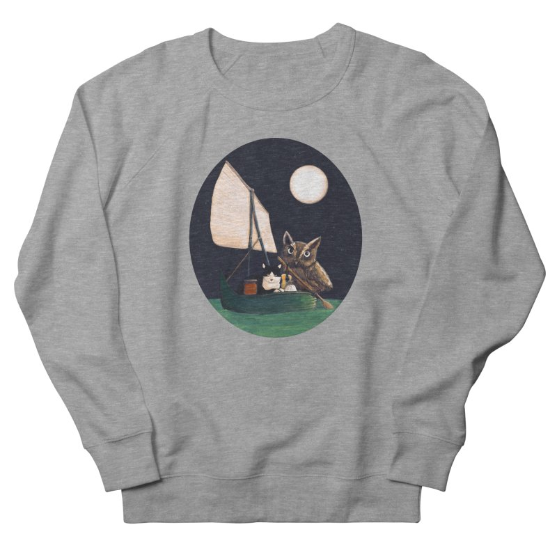 The Owl and the Pussycat Women's Sweatshirt by Thomas Orrow
