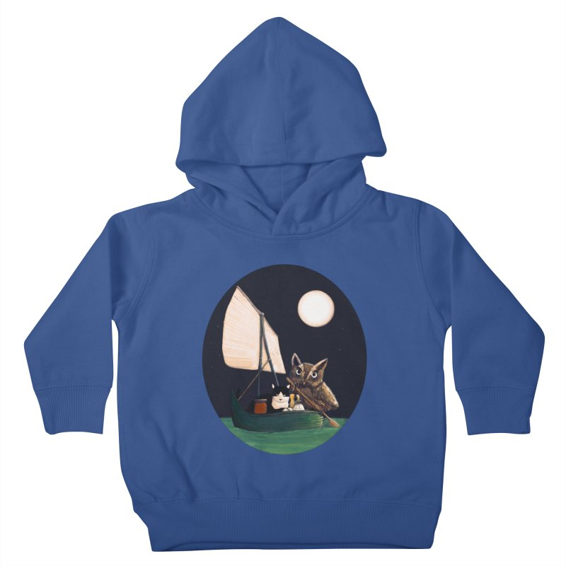The Owl and the Pussycat Kids Toddler Pullover Hoody by Thomas Orrow