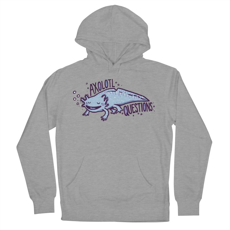 Axolotl Questions Women's Pullover Hoody by Thomas Orrow