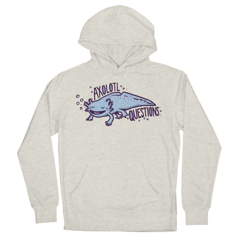 Axolotl Questions Women's Pullover Hoody by Thomas Orrow