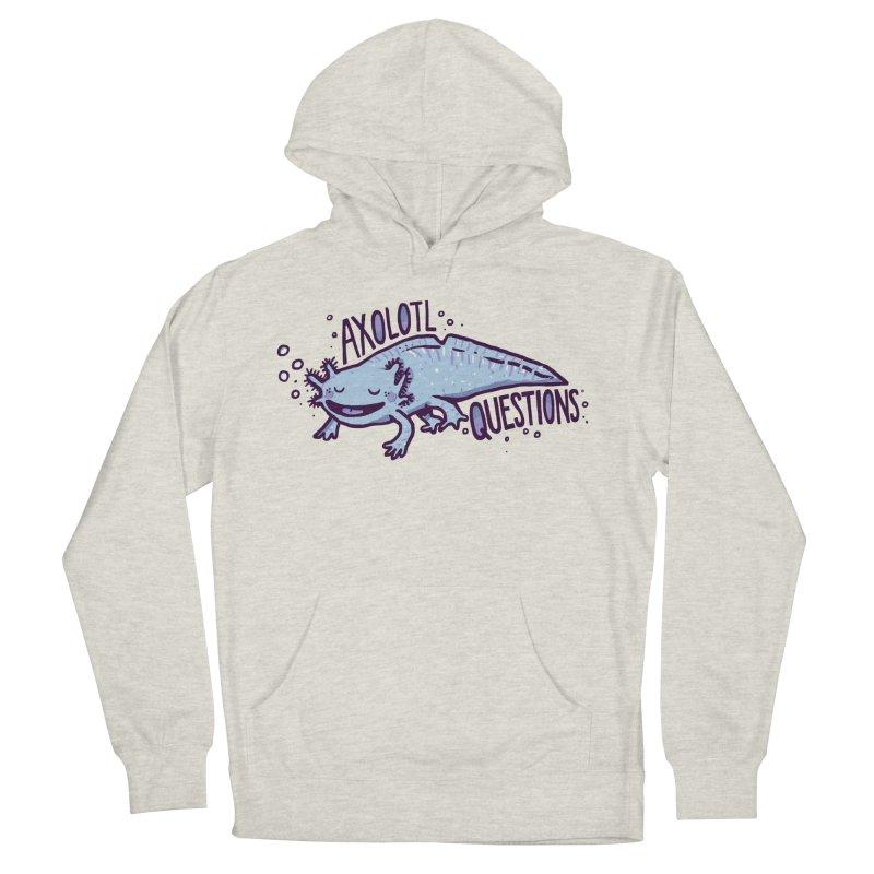 Axolotl Questions Men's Pullover Hoody by Thomas Orrow