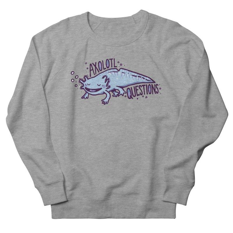 Axolotl Questions Women's Sweatshirt by Thomas Orrow