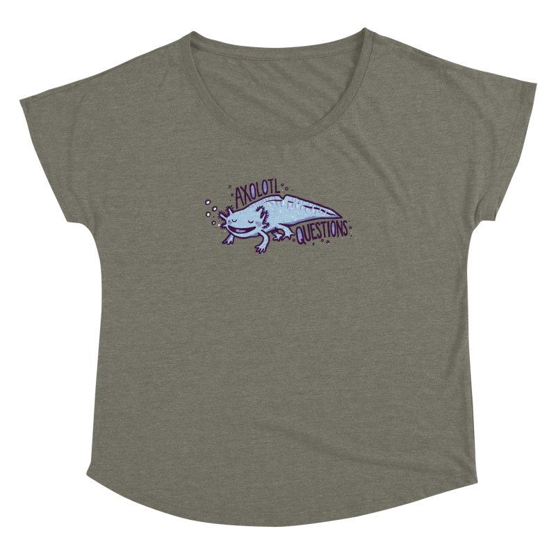 Axolotl Questions Women's Dolman by Thomas Orrow