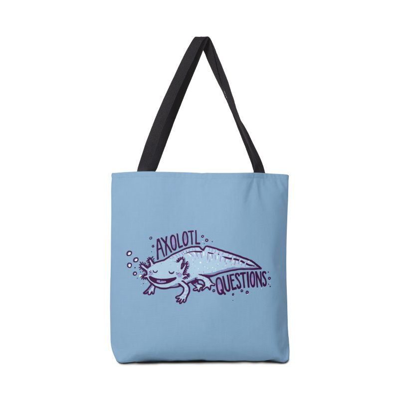 Axolotl Questions Accessories Bag by Thomas Orrow
