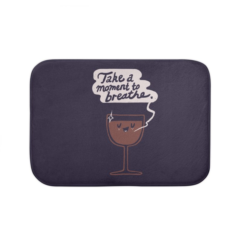 Breathe Home Bath Mat by Thomas Orrow