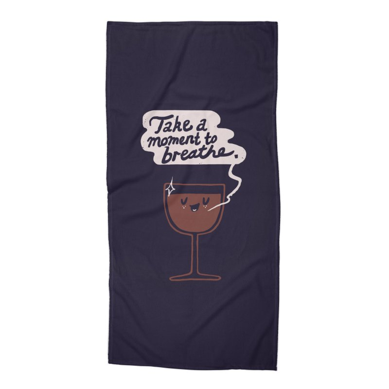 Breathe Accessories Beach Towel by Thomas Orrow