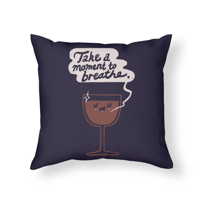 Breathe Home Throw Pillow by Thomas Orrow