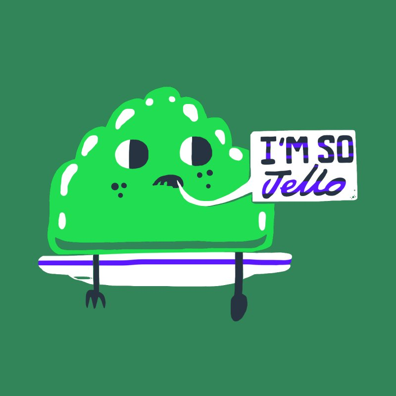 Jello Kids Toddler Longsleeve T-Shirt by Thomas Orrow