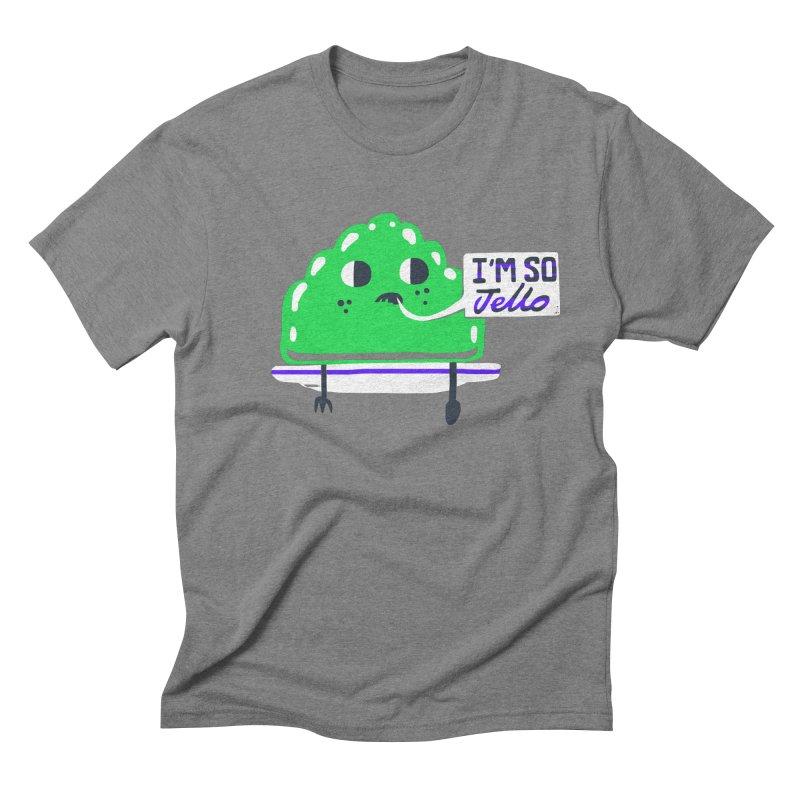Jello Men's Triblend T-shirt by Thomas Orrow
