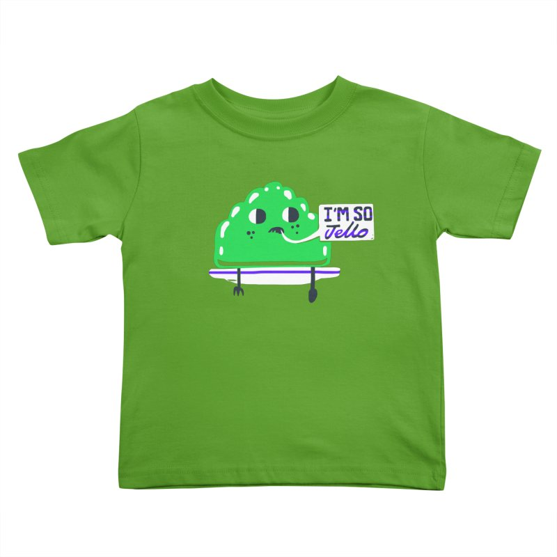 Jello Kids Toddler T-Shirt by Thomas Orrow
