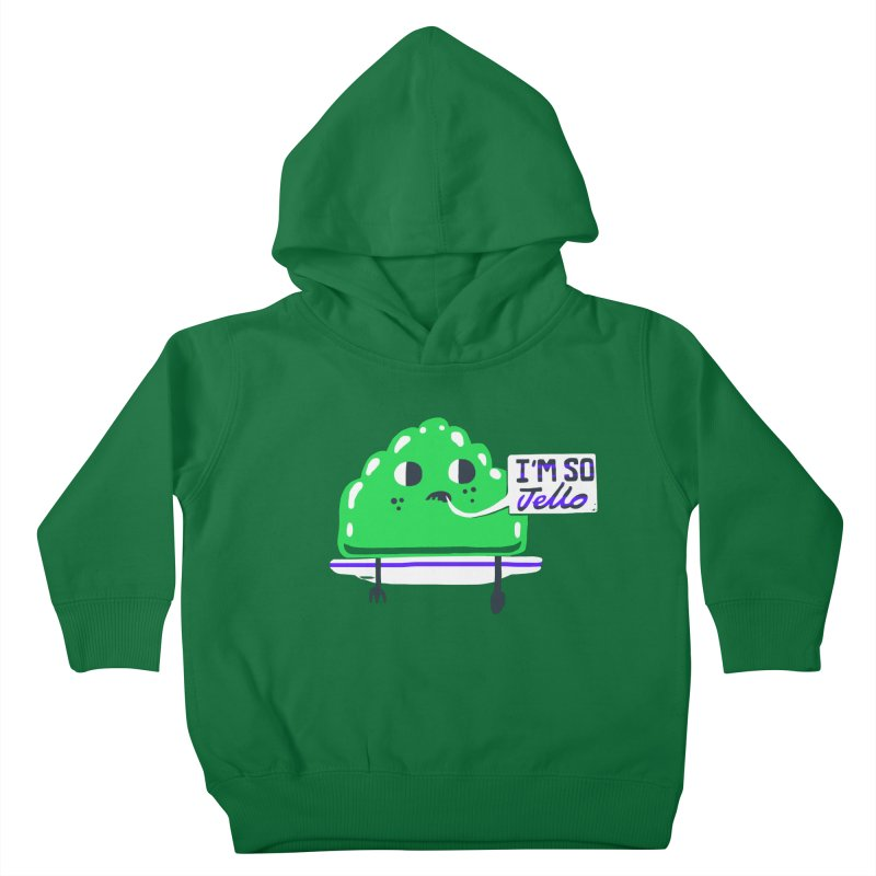 Jello Kids Toddler Pullover Hoody by Thomas Orrow