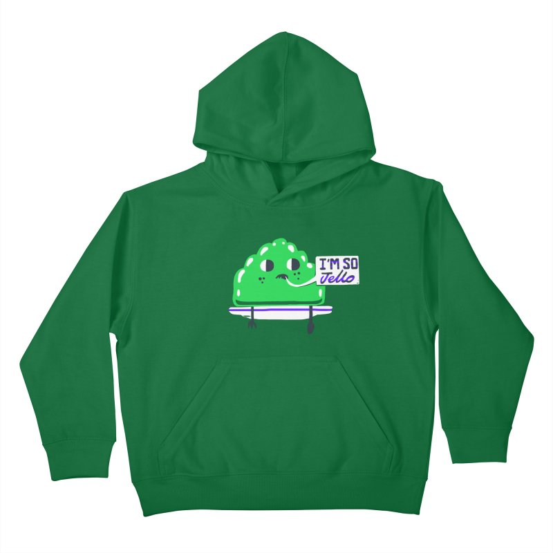 Jello Kids Pullover Hoody by Thomas Orrow