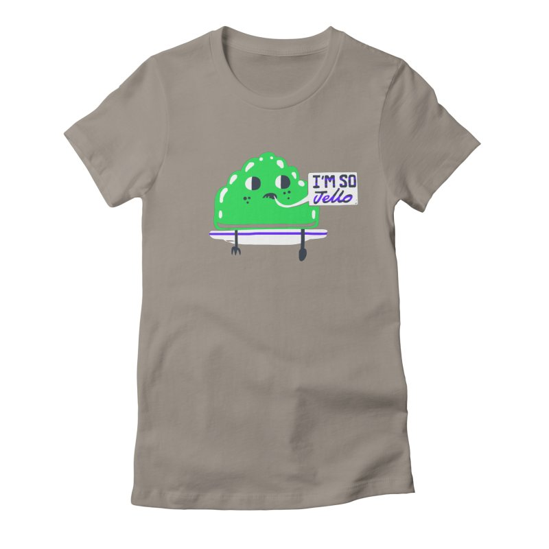 Jello Women's Fitted T-Shirt by Thomas Orrow