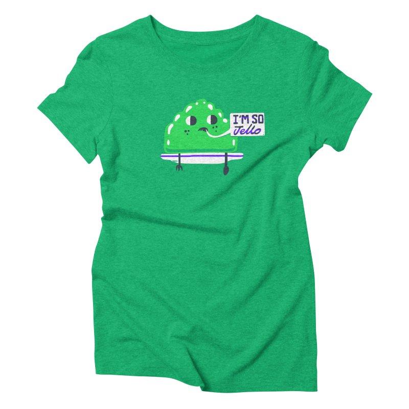 Jello Women's Triblend T-Shirt by Thomas Orrow