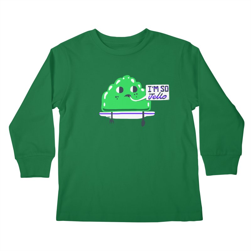 Jello Kids Longsleeve T-Shirt by Thomas Orrow