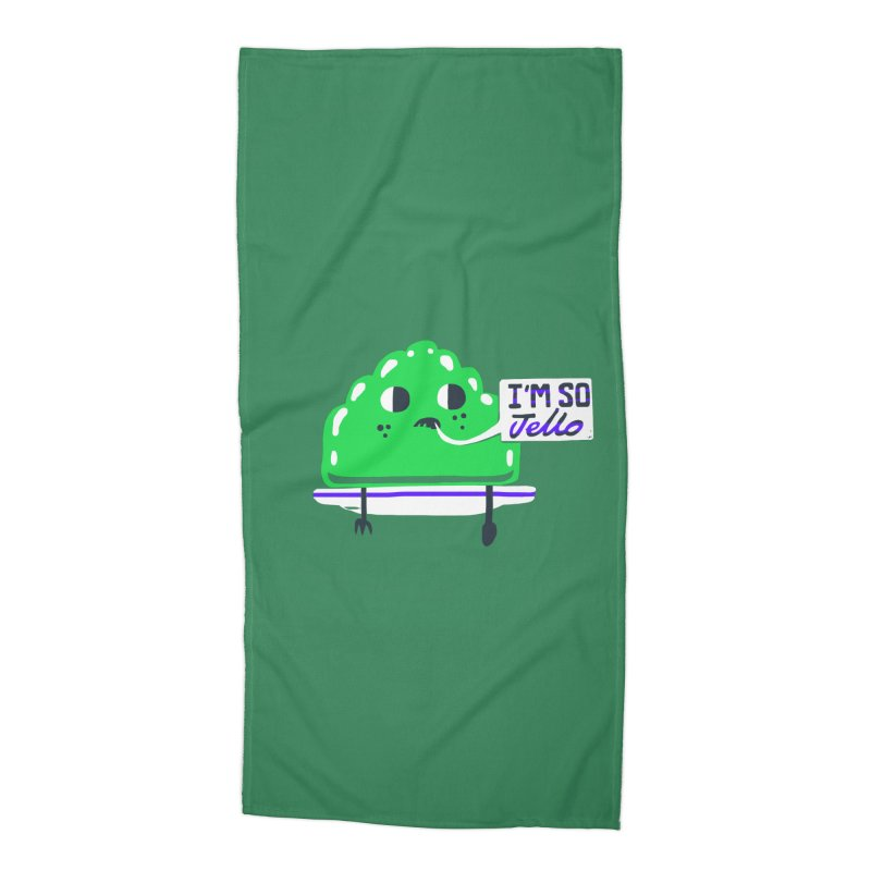 Jello Accessories Beach Towel by Thomas Orrow