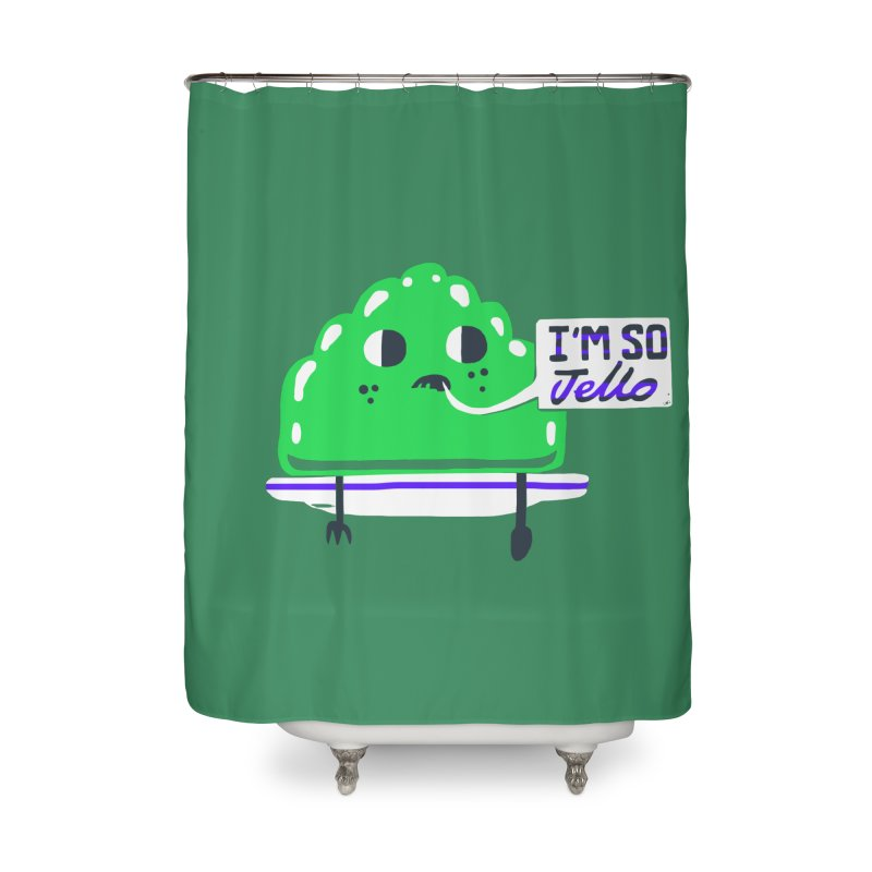 Jello Home Shower Curtain by Thomas Orrow