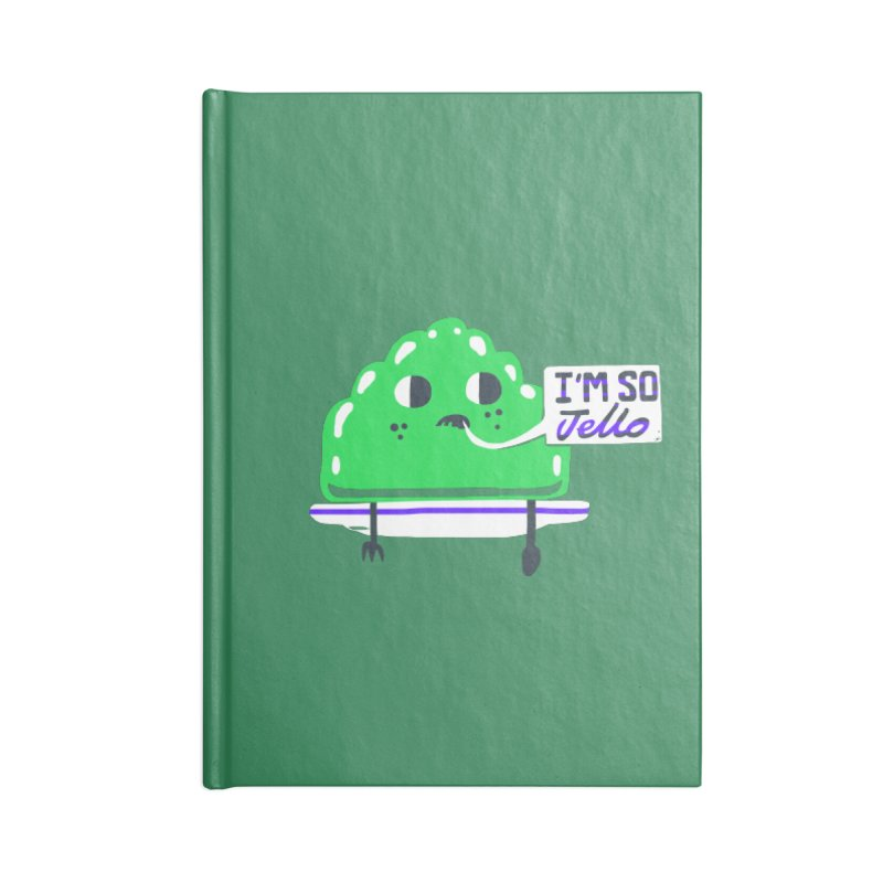 Jello Accessories Notebook by Thomas Orrow
