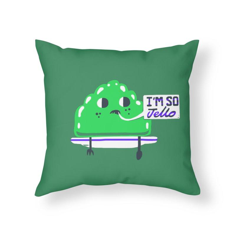 Jello Home Throw Pillow by Thomas Orrow