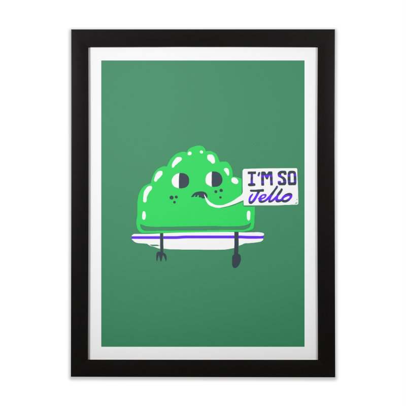 Jello Home Framed Fine Art Print by Thomas Orrow