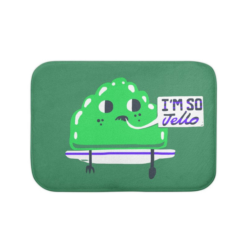 Jello Home Bath Mat by Thomas Orrow
