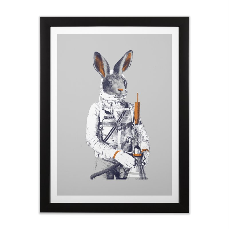 Peppy Home Framed Fine Art Print by Thomas Orrow