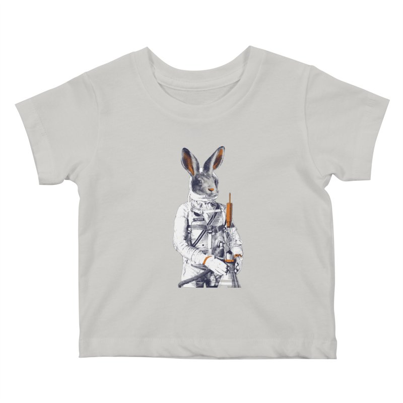 Peppy Kids Baby T-Shirt by Thomas Orrow