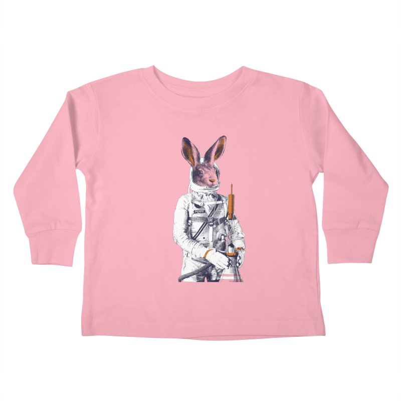 Peppy Kids Toddler Longsleeve T-Shirt by Thomas Orrow