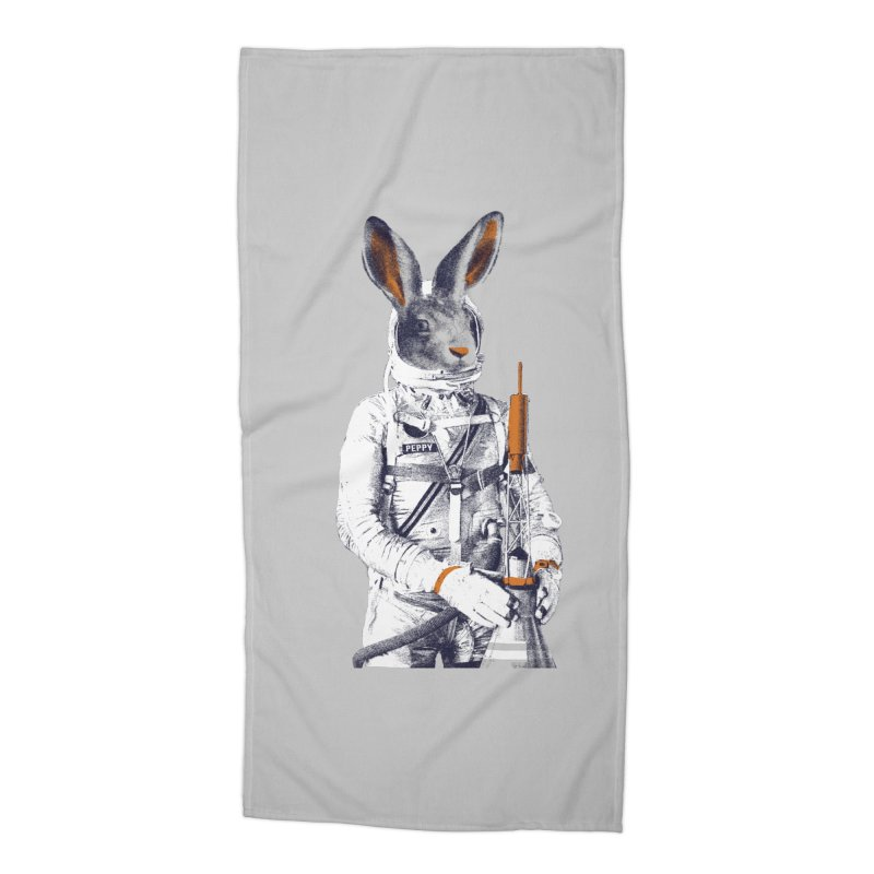 Peppy Accessories Beach Towel by Thomas Orrow