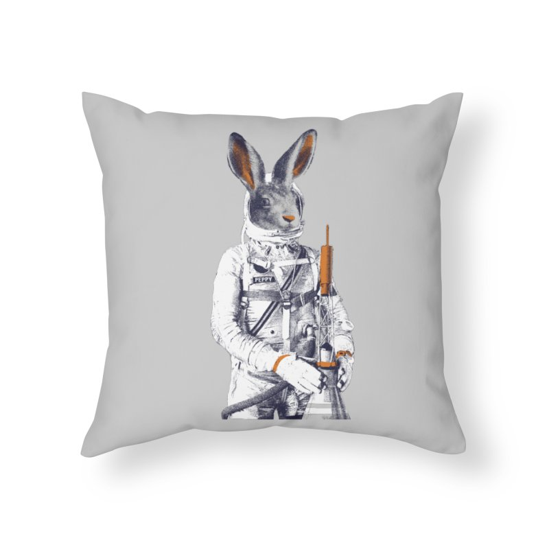 Peppy Home Throw Pillow by Thomas Orrow