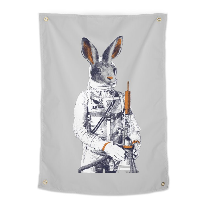 Peppy Home Tapestry by Thomas Orrow