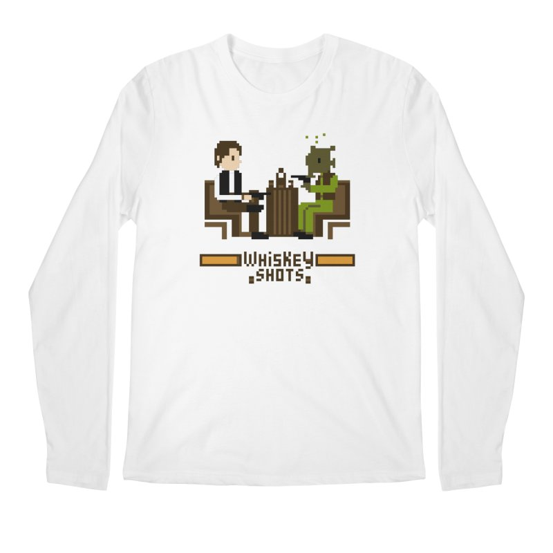 Whiskey Shots Men's Longsleeve T-Shirt by Thomas Orrow