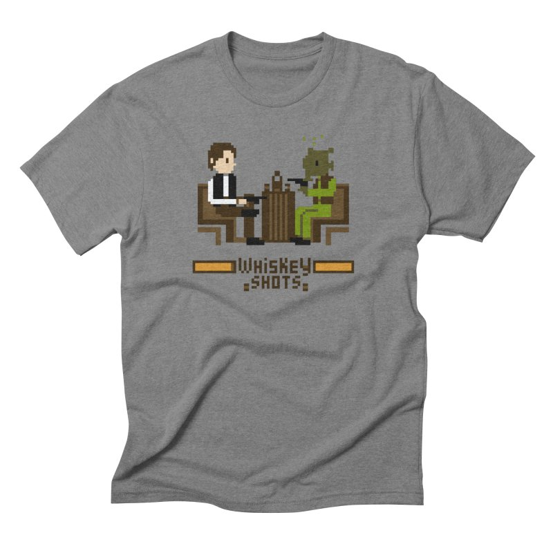 Whiskey Shots Men's Triblend T-shirt by Thomas Orrow