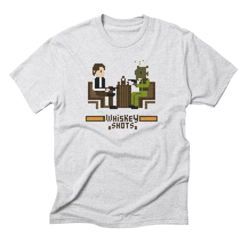Whiskey Shots Men's Triblend T-Shirt by Thomas Orrow