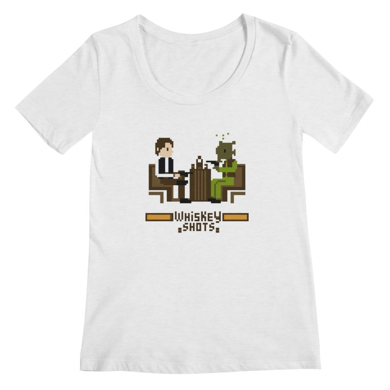 Whiskey Shots Women's Scoopneck by Thomas Orrow