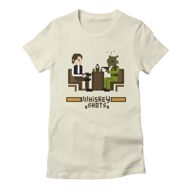Whiskey Shots Women's Fitted T-Shirt by Thomas Orrow