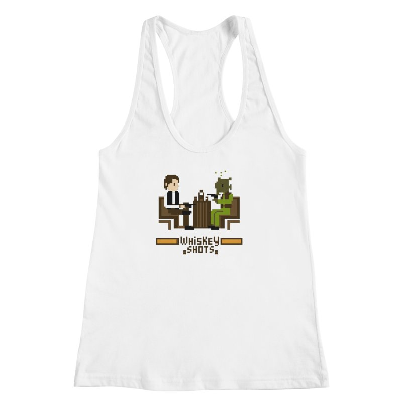 Whiskey Shots Women's Racerback Tank by Thomas Orrow