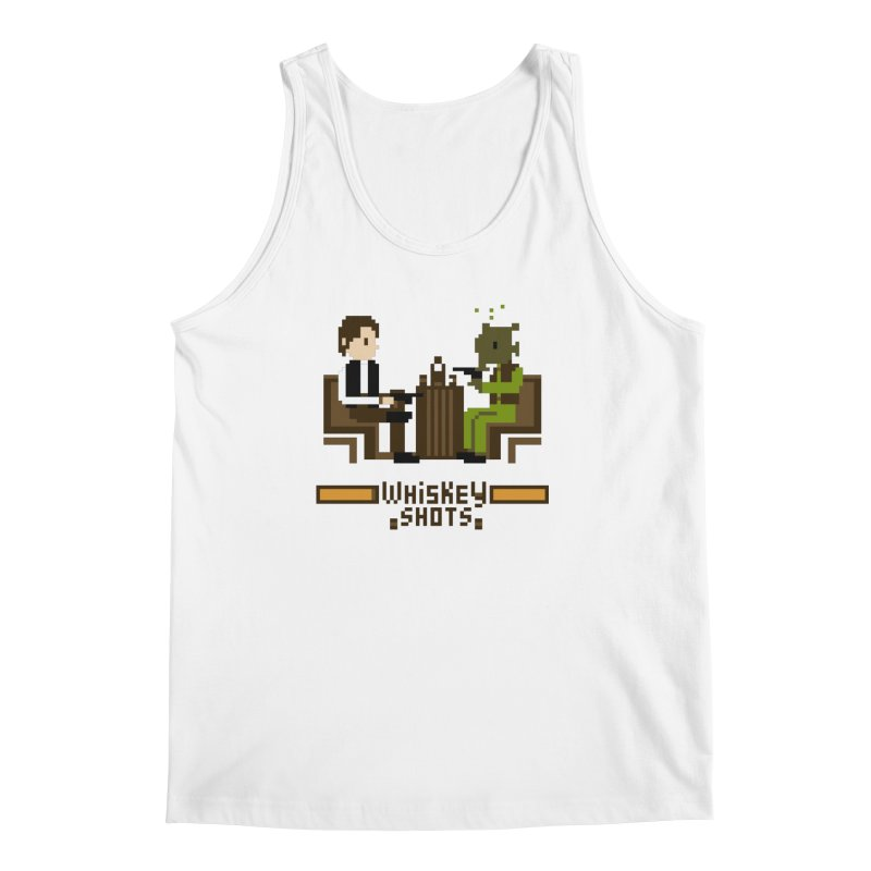 Whiskey Shots Men's Tank by Thomas Orrow