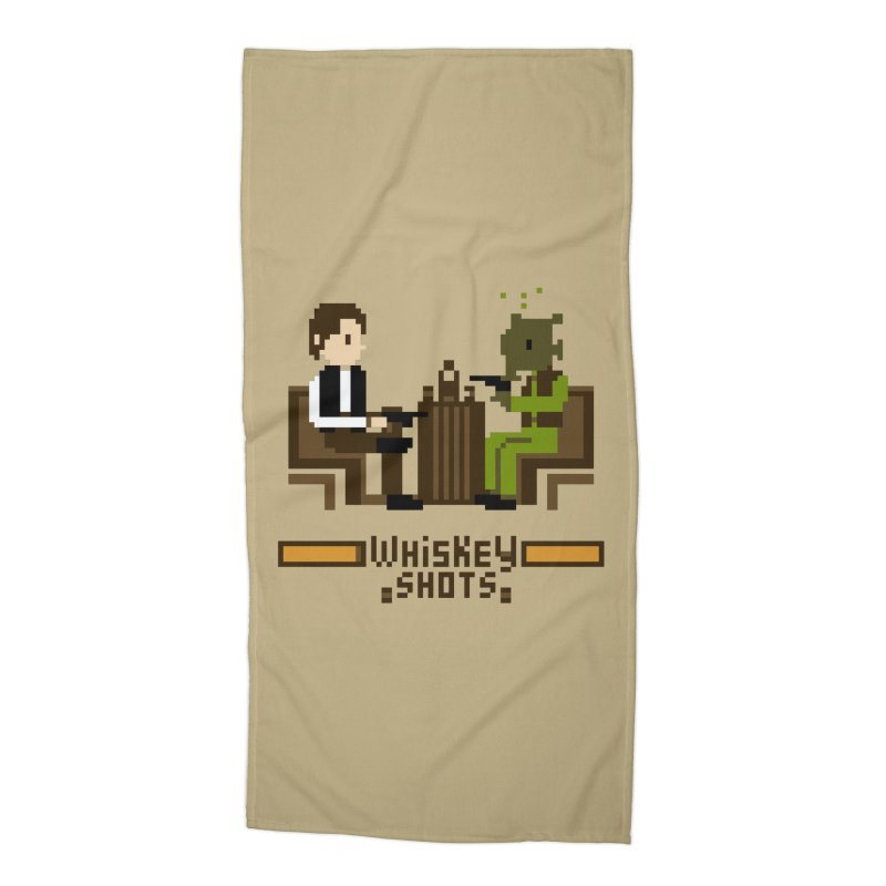 Whiskey Shots Accessories Beach Towel by Thomas Orrow