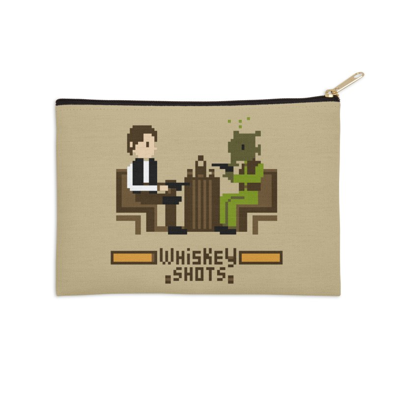 Whiskey Shots Accessories Zip Pouch by Thomas Orrow