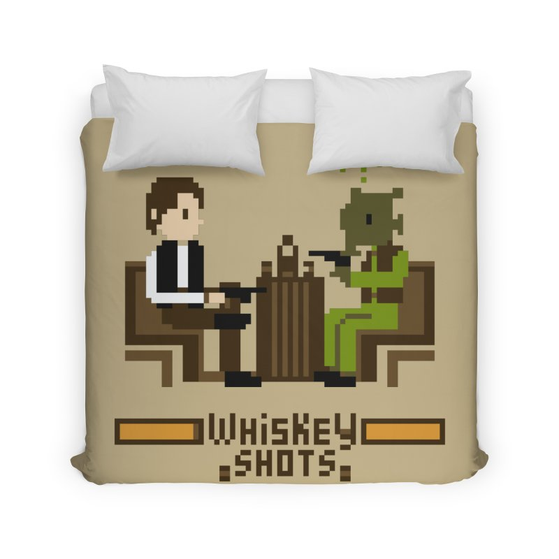 Whiskey Shots Home Duvet by Thomas Orrow